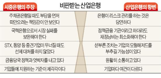 """""""산업은행 너무 몸 사려…국책銀다운 책임감 보여라"""""""