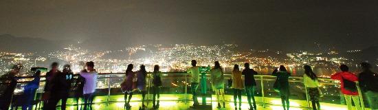 세계 新3대 야경으로 꼽히는 나가사키  이나사야마.