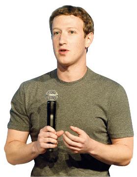 마크 저커버그 페이스북 창업자 겸  CEO. <한경DB>