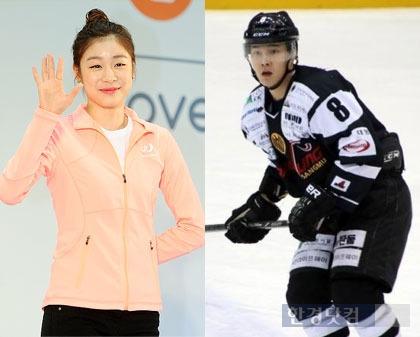 김연아의 남자는 김원중 아이스하키 선수…데이트는 언제하나?