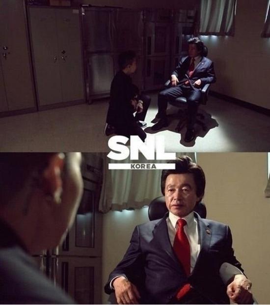 사진 = tvN 'SNL 코리아' 공식 페이스북 / '허경영' '류현경' 'SNL 코리아'