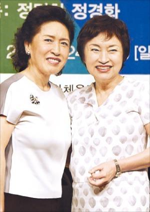 제11회 대관령국제음악제 공동 예술감독을 맡은 정명화(왼쪽) 정경화 씨.