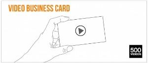 실리콘밸리 VC, 비디오 명함 스타트업 '500videos'에 투자