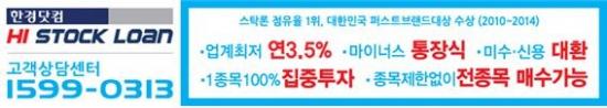 박스권 탈출 청신호, 주식자금이 필요하다면 한경닷컴하이스탁론