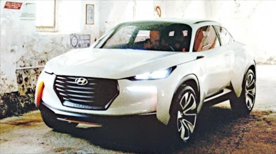 현대자동차가 개발 중인 차세대 수소연료전지 콘셉트카 '인트라도'. 현대자동차 제공