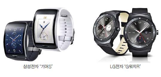 [IFA 2014] 기어S, 스마트폰 없어도 통화하고 문자 vs G워치R, 가볍고 둥근 클래식 시계 그 자체