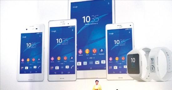 소니는 'IFA 2014'에서 '플레이스테이션(PS) 4' 게임이 가능한 스마트폰 '엑스페리아 Z3'를 선보였다. 소니코리아 제공