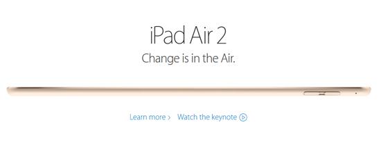 애플 아이패드 다시 진화…지문 인식에 두께 불과 6mm