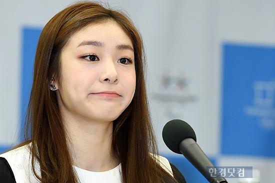 지난 4일 평창동계올림픽 홍보대사 위촉식에 참석한 김연아. 사진=변성현 기자