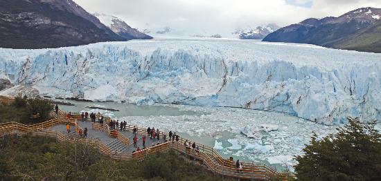 아르헨티나 페리토 모레노 빙하. 신발끈여행사 제공.