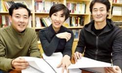 장편소설 부문 심사위원 박성원(왼쪽부터), 정유정, 정영문 소설가.