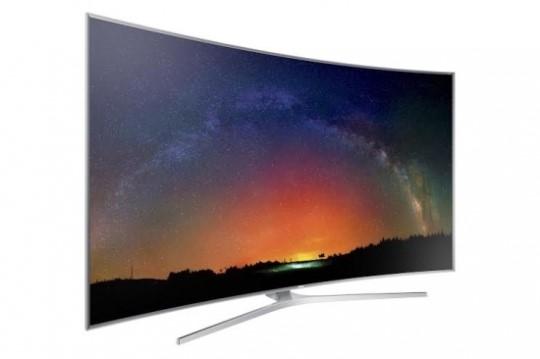 삼성 SUHD TV JS9500 제품.