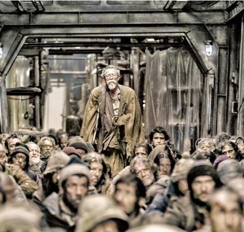 영화 '설국열차'의 한장면