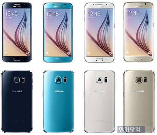 [이슈+] 삼성 '갤럭시S6', 애플 아이폰6와 비교해 보니…