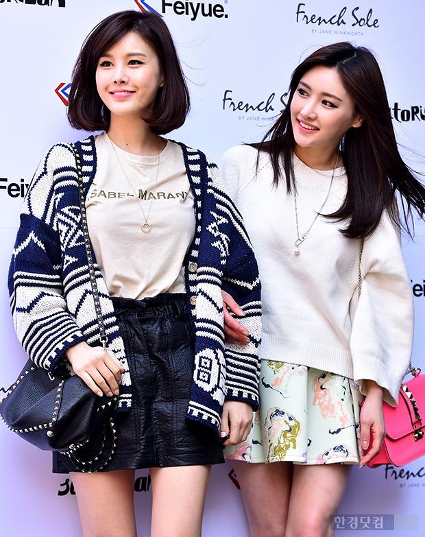 ▶박은지-박은실 자매, '싱그러운 미소 머금고~'