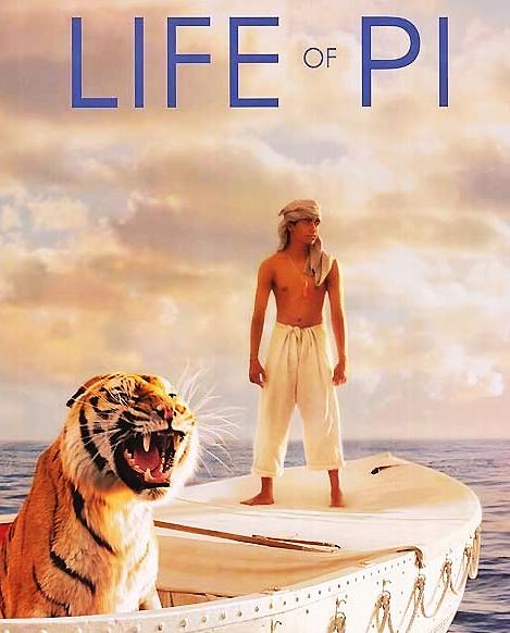 영화 '라이프 오브 파이'의 포스터.