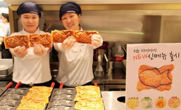 신세계 센텀시티,일본 도미빵 신메뉴 4종 출시