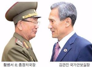 """""""김관진-황병서 '화장실 담판'…합의 돌파구 열었다"""""""