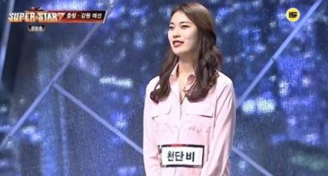 천단비 / 싲;ㄴ=Mnet '슈퍼스타K7' 방송화면 캡처