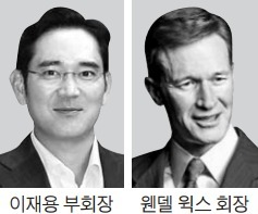 코닝 회장과 또 만난 이재용