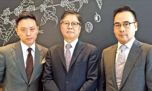 법무법인 세종을 나와 별도 로펌을 차린 김준민(왼쪽부터), 김범수, 이은녕 변호사. KL파트너스 제공
