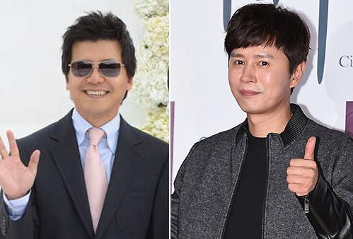 칠성파 결혼식 손지창 김민종 참석 /한경DB