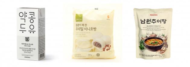 약콩두유, 통팥이 꽉 찬 우리밀 미니호빵,남원추어탕