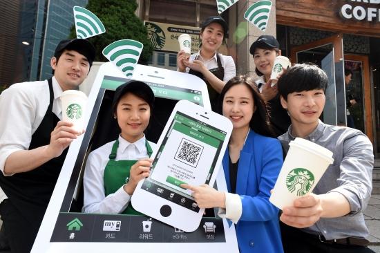 커피 프랜차이즈 모바일 앱, 스타벅스 독주…뒤쫓는 국내 업체