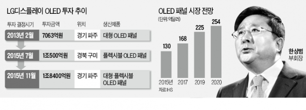 """[단독] 한상범 LGD 부회장 """"차세대 OLED 키우는데 집중하겠다"""""""