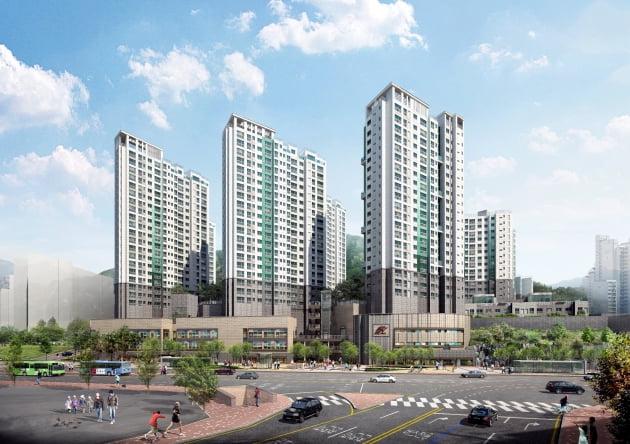 '힐스테이트 녹번' 투시도. 현대건설 제공