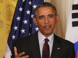 """오바마 """"트럼프, 대통령 안될것으로 믿는다"""""""