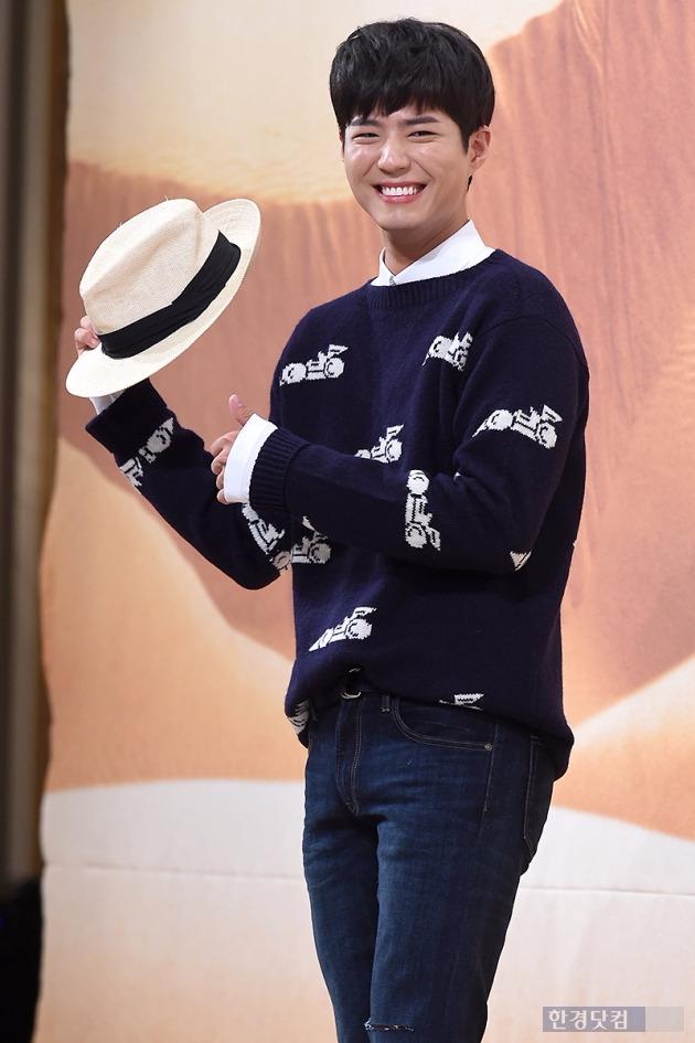 [HEI포토] 박보검, '모자 쓰고도 검게 그을린 피부~'