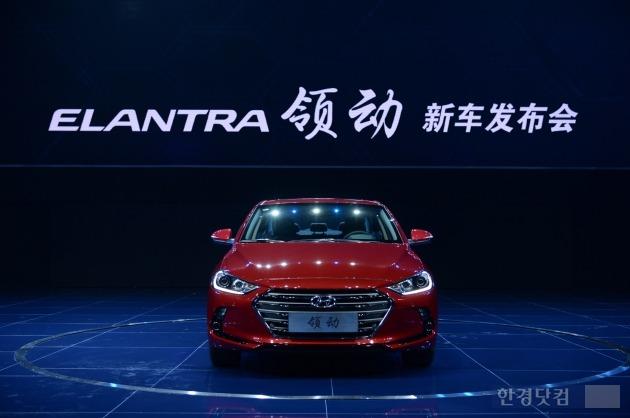 현대차 중국 합작법인은 지난 25일(현지시간) 중국형 신형 아반떼 '링동'을 출시했다. 사진=현대차 제공