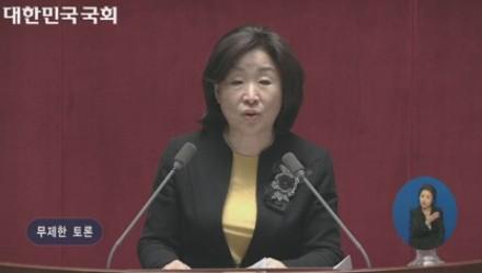 """필리버스터 중단 결정, 심상정 """"열정과 관심 투표장으로 이어져야 한다"""""""