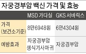 """""""무료 접종 자궁경부암 백신에 이중가격 적용 검토"""""""