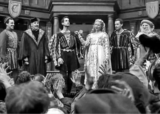 윌리엄 셰익스피어의 사랑을 다룬 영화 '셰익스피어 인 러브'