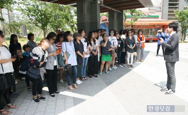 우미건설이 지난 6월 '춘천 후평 우미린 뉴시티' 관심고객과 함께 2012년 입주한 영종하늘도시 우미린 1, 2차를 방문하는 투어를 진행했다. 이 투어는 3회에 거쳐 진행됐다.