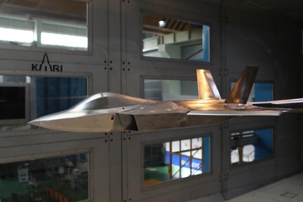 KAI, 한국형 전투기 풍동시험 착수로 개발 본격화