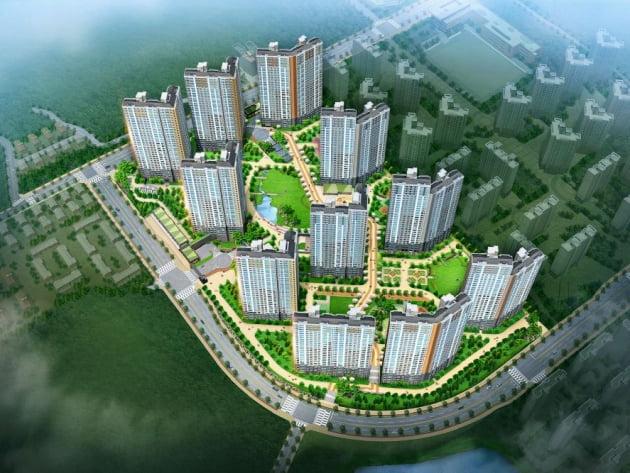 [다산신도시 지금지구 반도유보라 메이플타운 2.0①규모]서울 가깝고 한강 누리는 1261가구 대단지