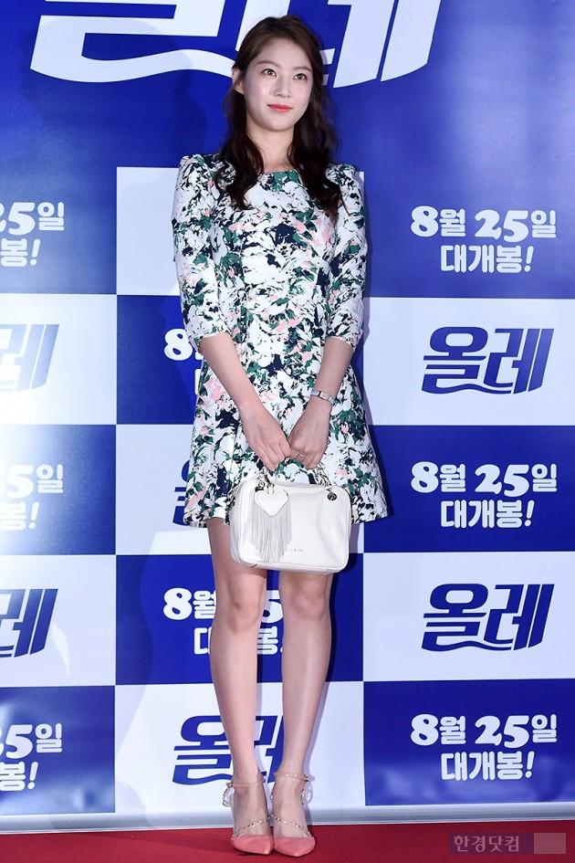 [HEI포토] 공승연, '화사한 꽃무늬 원피스 입고~'