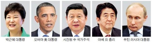박 대통령, 4강 정상과 숨가쁜 '북핵·사드 외교'