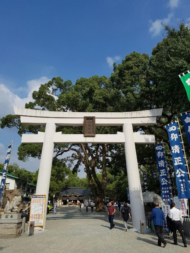 [최인한의 일본 바로 보기] 일본 규슈 구마모토성에는 한일 역사가 숨어 있다