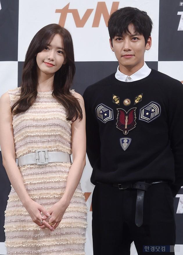 [HEI포토] 윤아-지창욱, '눈 호강하는 커플 샷'