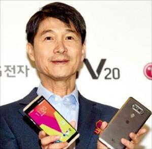 LG 'V20폰' 출격…재도약 승부수 띄웠다