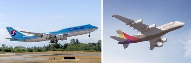대한항공·아시아나, 올 3분기 높이 날았다…최대 실적 전망
