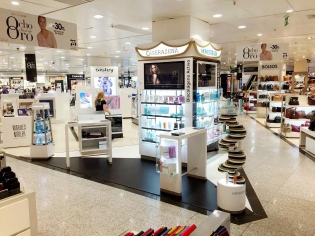 바이오화장품 새라제나, 국내 최초 스페인 '엘 코르테 잉글레스' 명품화장품관 입성