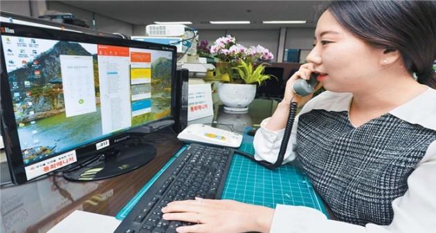 """똑똑한 사무실 전화 '통화매니저 오피스' 인기…""""업무효율성 높아졌어요"""""""