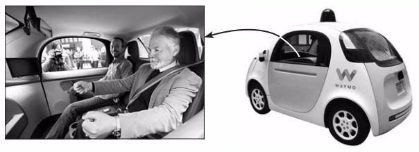 자율주행차 속도내는 구글…시각장애인 시범운행 성공