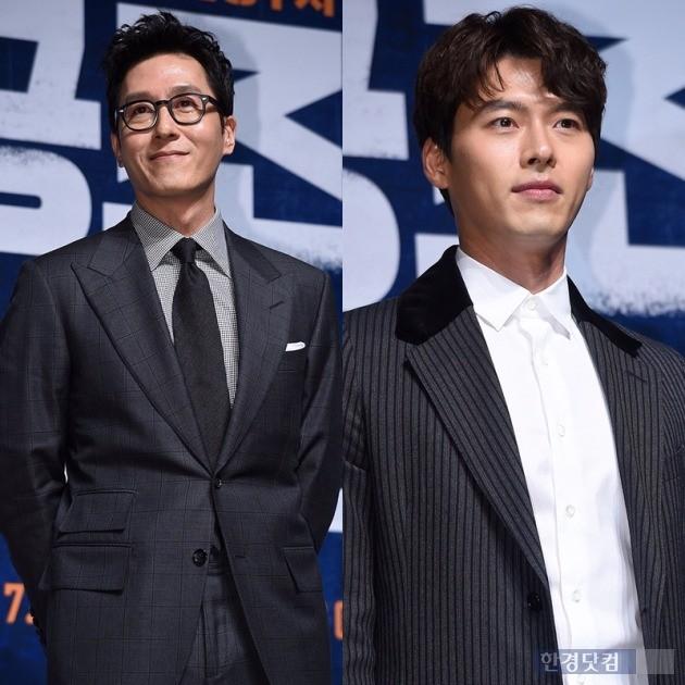 '공조' 김주혁(왼쪽), 현빈 /사진=최혁 기자