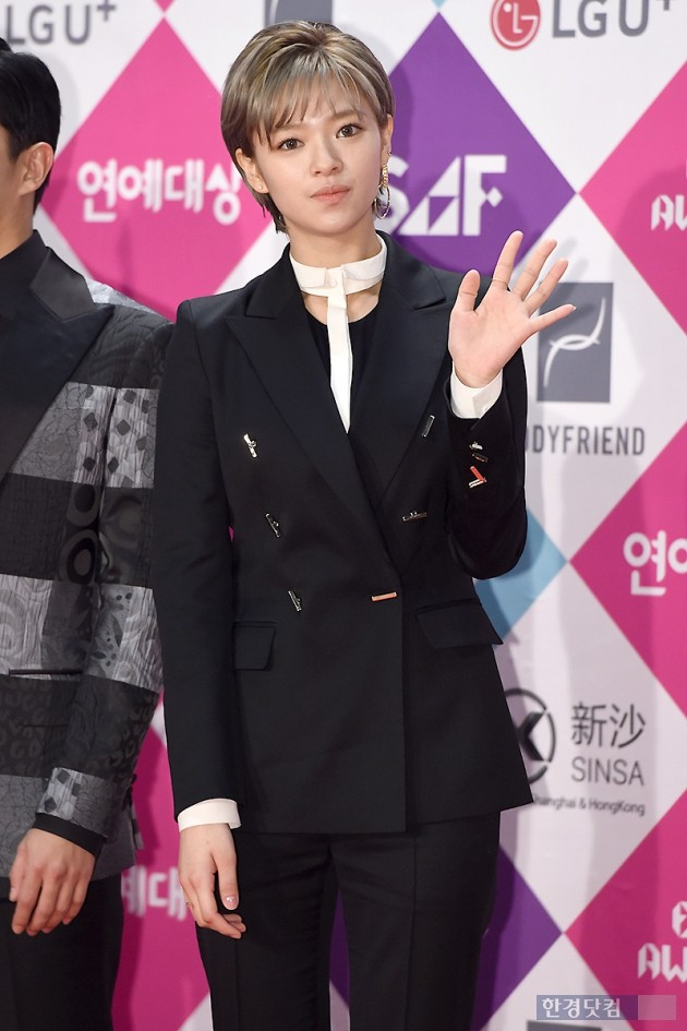 [HEI포토] 트와이스 정연, '감탄 나오는 아름다운 모습~' (SBS 연예대상)
